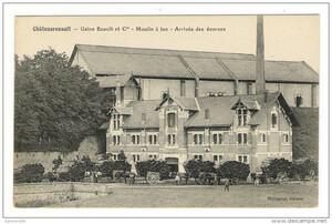 5- Arrivée des écorces au Moulin à Tan, à Chateau Renault