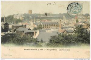 6- Les tannerie à Chateau Renault