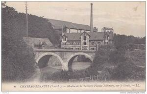 7- Moulin de la Tannerie à Chateau Renault